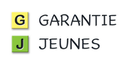 GJ 3d initials in colored 3d cubes with 3d meaning in french language
