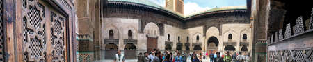 fes: The Bou Inania madrasah in Fes • Fes, Morocco