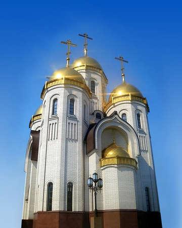 volgograd: The All Saints Temple, Mamaev Hill, Volgograd, Russia