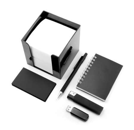 identity design, corporate templates, company style, set of office stationery photo