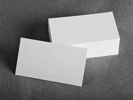 blank business cards, identity design, corporate templates, company style Reklamní fotografie