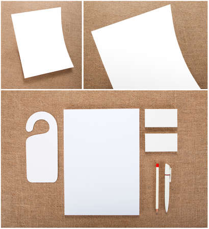 stationery set: Stationery set design. Stationery template. Corporate identity