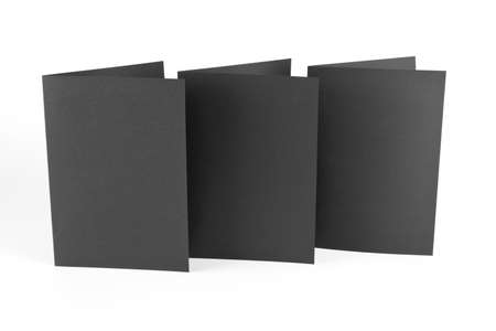 note booklet: Magazine, booklet, postcard, business card or brochure mockup template