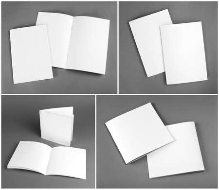 Blank catalog, brochure, magazines, book mock up Reklamní fotografie