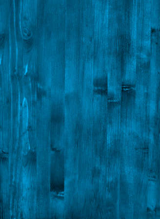 wood backgrounds: A blue wooden wall with vertical planks. Close up of an old wooden fence panels