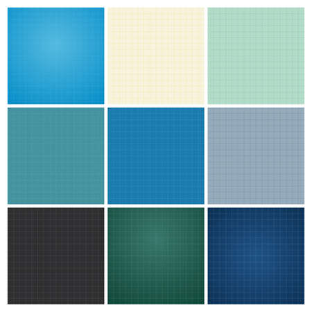 Isometric blueprint grid seamless pattern background texture vector set of seamless blueprint background malvernweather Gallery