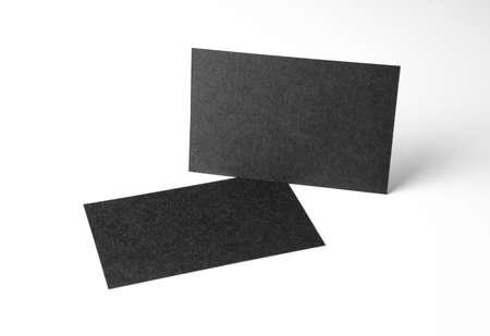 Mockup of business cards. Template for branding identity Banque d'images
