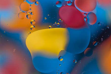 Oxygen bubbles in a liquid