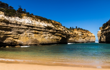 ard: The Loch Ard Gorge at Port Campbell National Park on the great ocean road in Victoria Australia