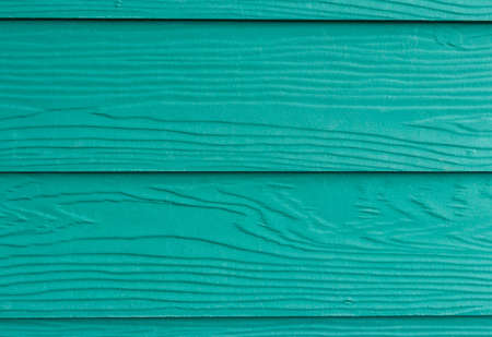 The green wood plank wall for texture and background photo