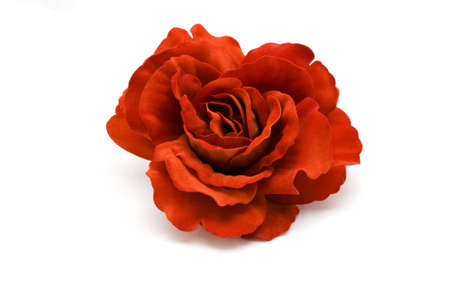 roseleaf: A big red rose on a white background.