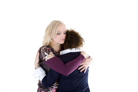 A woman is consoling her friend Stock Photo - 6471102