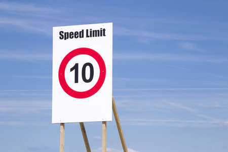 Sign is telling the current speedlimit.