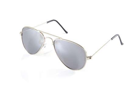 Single sunglasses on a white background. photo