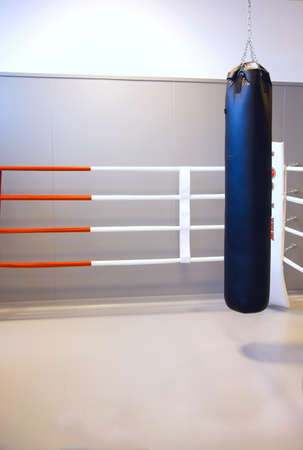 Training ground for boxers and kickboxers photo