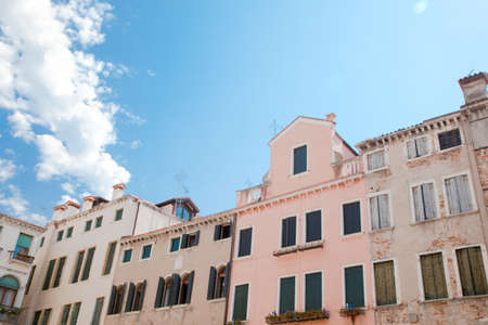 Couple of buildings at Venice Stock Photo