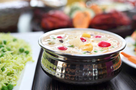 Indian food. Traditional Indian cuisine. 스톡 콘텐츠