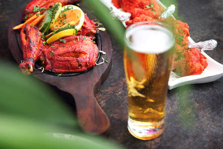 Thai food. Colorful, aromatic east cuisine. Indian Kitchen. 스톡 콘텐츠