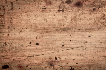 Houten achtergrond textuur van gladde houten planken gescoord en gekleurd met de leeftijd Stockfoto