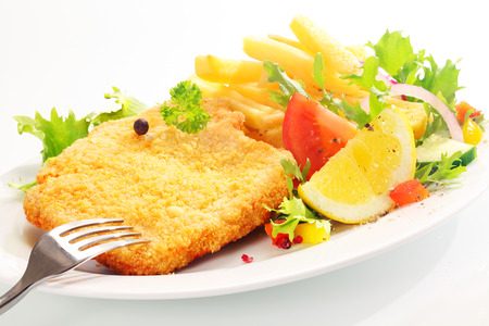 escalope or Schnitzel photo