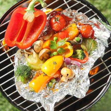 Gesunde Bio Vegetarische Und Vegane Gerichte Mit Einer Auswahl An