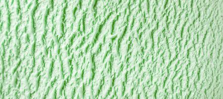 Full Frame Textura del fondo - primer plano de la verde menta o helado de pistacho - cremoso, frío y postre lácteo congelado Foto de archivo - 53497896