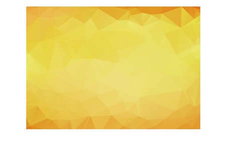 ambiance: Abstract background pattern of yellow polygons overlaid in gradient color from orange on the edges to light yellow in the center