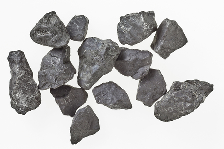 Russian shungite rock from Karelia used in energising and purification of water in alternate healing due to its high carbon content and one of the only rocks to contain fullerenes antioxidants