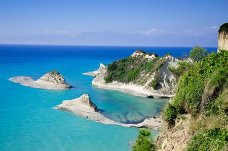 corfu: Coast in Corfu
