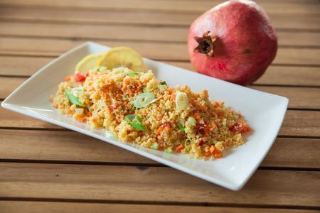 couscous: couscous salad