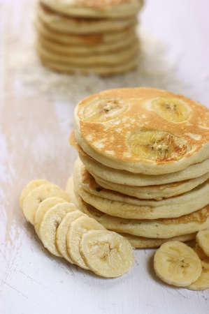 Banana pancakes LANG_EVOIMAGES