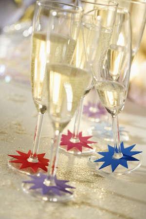 Glasses of Champagne Stock Photo - 15987433