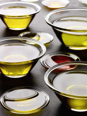 cooking oil: Bowls of oil