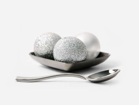 christmas cooking: Silver balls for the Christmas tree