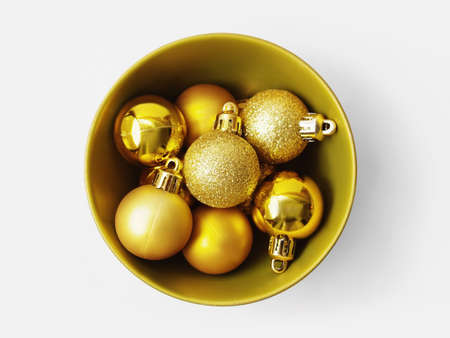 Golden balls for the Christmas tree Stock Photo - 15987553
