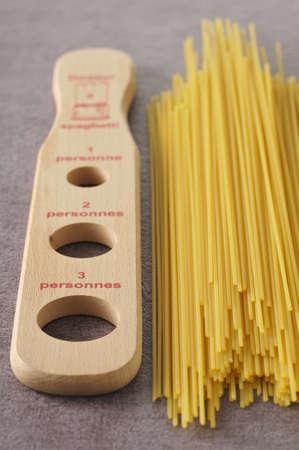 mesure: Spaghettis mesure