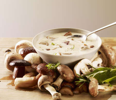 Cream of cep soup