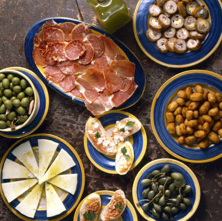 spanish food: Tapas