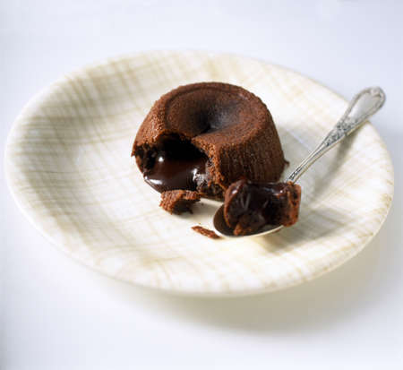 Individual  chocolate fondant LANG_EVOIMAGES