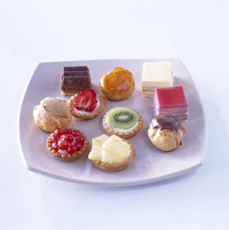 Assorted sweet petit-fours
