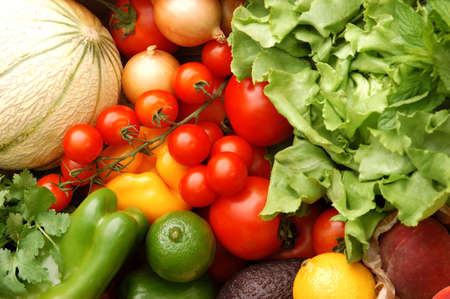 gastronomy: Fruit and vegetables from the market LANG_EVOIMAGES