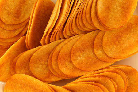 nibble: Paprika-flavored crisps