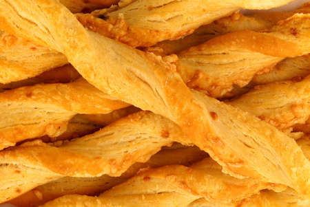 twists: Aperitif cheese-flavored pastry twists