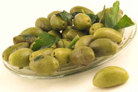 Green olives from Luques