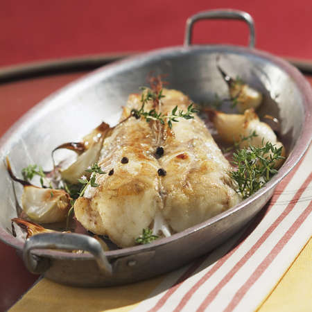 burbot: Monkfish with garlic LANG_EVOIMAGES