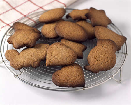 cool off: Leaving the cookies to cool off