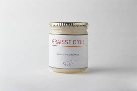 out of production: Jar of goose fat