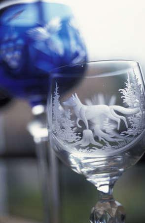 Crystal glasses Stock Photo - 17026930