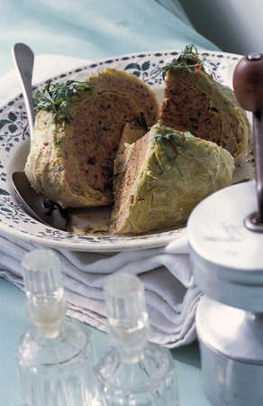 Cabbage stuffed with beef Stock Photo - 17027049