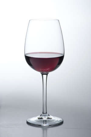 Glass of red wine Stock Photo - 17025992